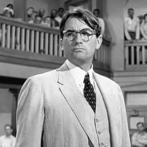 Atticus Finch is listed (or ranked) 9 on the list The Very Best Oscar Winning Performances