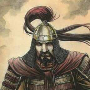 Attila the Hun is listed (or ranked) 9 on the list The Most Important Military Leaders in World History