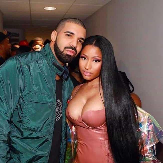 Drake is listed (or ranked) 4 on the list Nicki Minaj Loves and Hookups