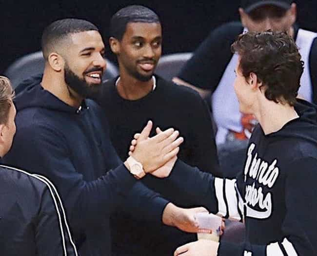 Drake is listed (or ranked) 2 on the list The Many Celebrity BFFs Of Shawn Mendes
