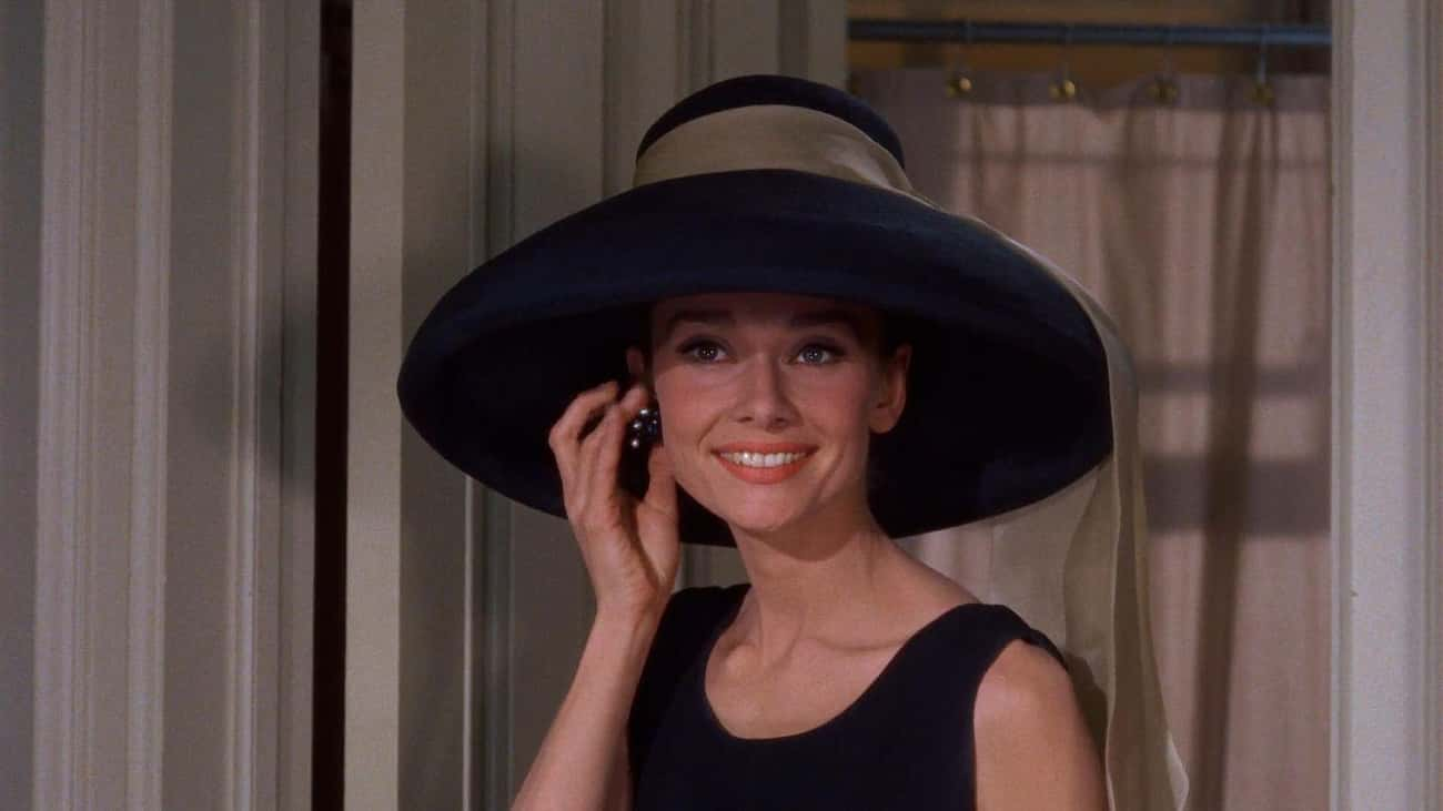 Audrey Hepburn is listed (or ranked) 4 on the list The Most Beautiful Famous Women of the Last 100 Years