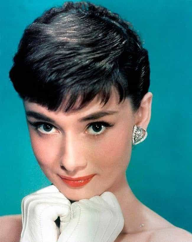 Audrey Hepburn is listed (or ranked) 3 on the list Celebrities Who Carry Lucky Charms