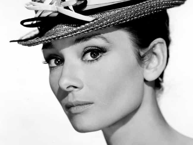 Audrey Hepburn is listed (or ranked) 2 on the list The Most Beautiful Actresses Ever