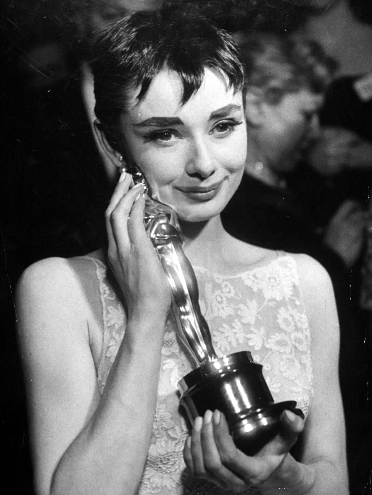 Audrey Hepburn is listed (or ranked) 1 on the list People Who Have EGOT Awards