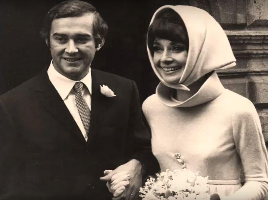 Audrey Hepburn on Random Rarely Seen Photos Of Old Hollywood Legends On Their Wedding Day