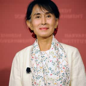 Aung San Suu Kyi is listed (or ranked) 24 on the list Famous University Of London Alumni
