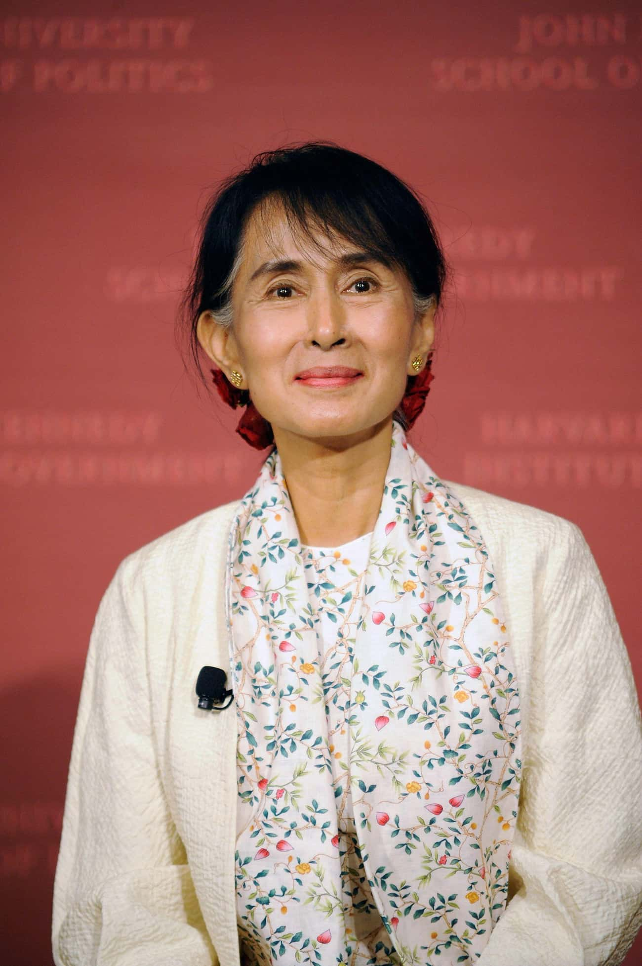 Aung San Suu Kyi is listed (or ranked) 4 on the list List of Famous Political prisoners