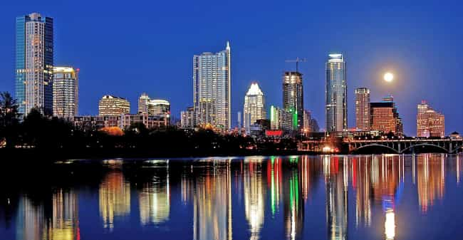 Austin is listed (or ranked) 4 on the list The Best Cities for Young Couples
