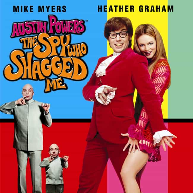 Austin Powers: The Spy W... is listed (or ranked) 4 on the list The 20 Most Absurd Translations of Film Titles