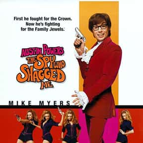 Austin Powers: The Spy Who Sha is listed (or ranked) 23 on the list The Funniest '90s Movies