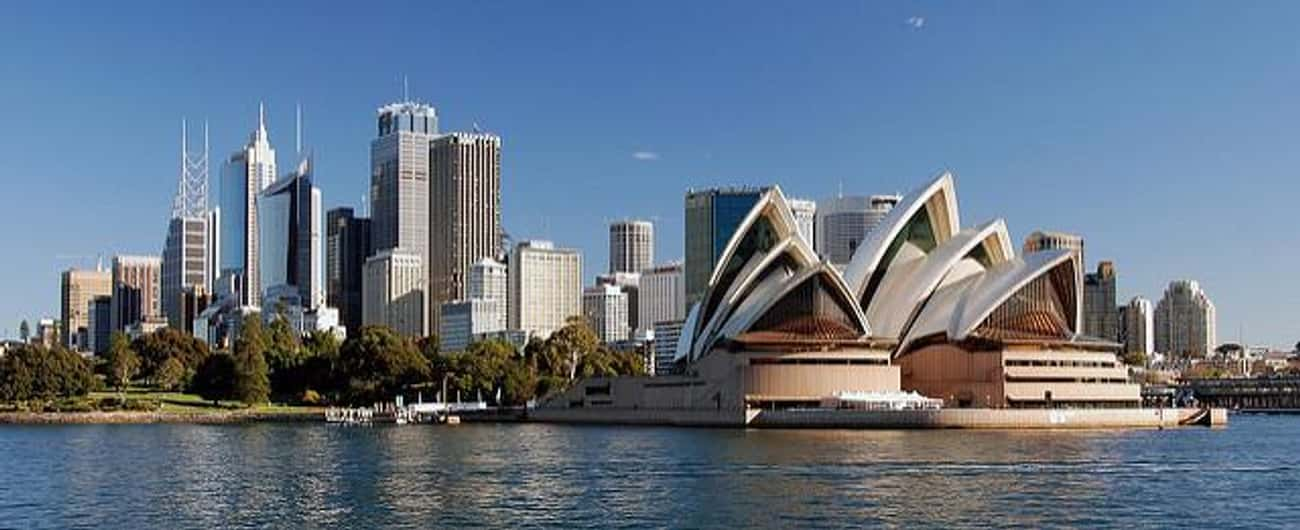 Australia is listed (or ranked) 4 on the list The Best Countries to Live In