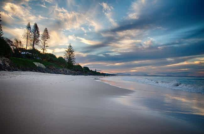 Australia is listed (or ranked) 3 on the list The Countries with the Best Beaches