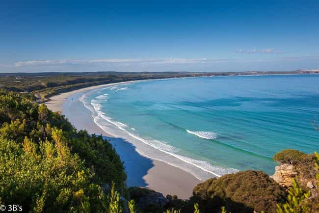 Australia is listed (or ranked) 2 on the list The Countries with the Best Beaches