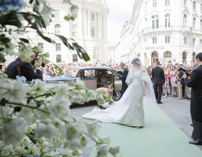 Austria is listed (or ranked) 1 on the list Wedding Dresses from Around the World