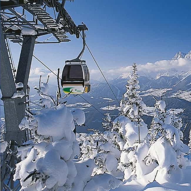 Austria is listed (or ranked) 1 on the list The Best Countries for Skiing