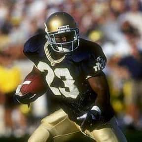 Autry Denson is listed (or ranked) 7 on the list The Best Notre Dame Fighting Irish Running Backs of All Time