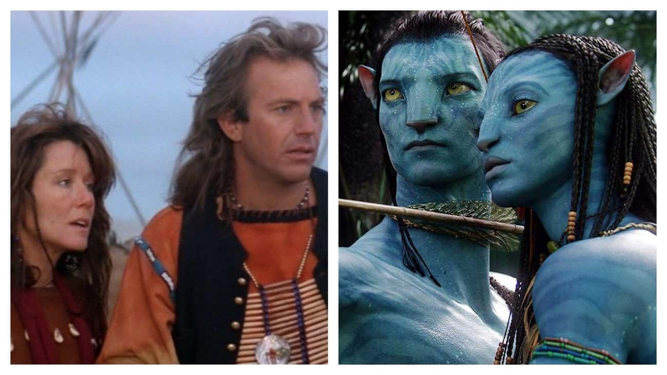 'Avatar' Is Basically Just 'Da is listed (or ranked) 1 on the list Movies That Basically Have The Same Plot