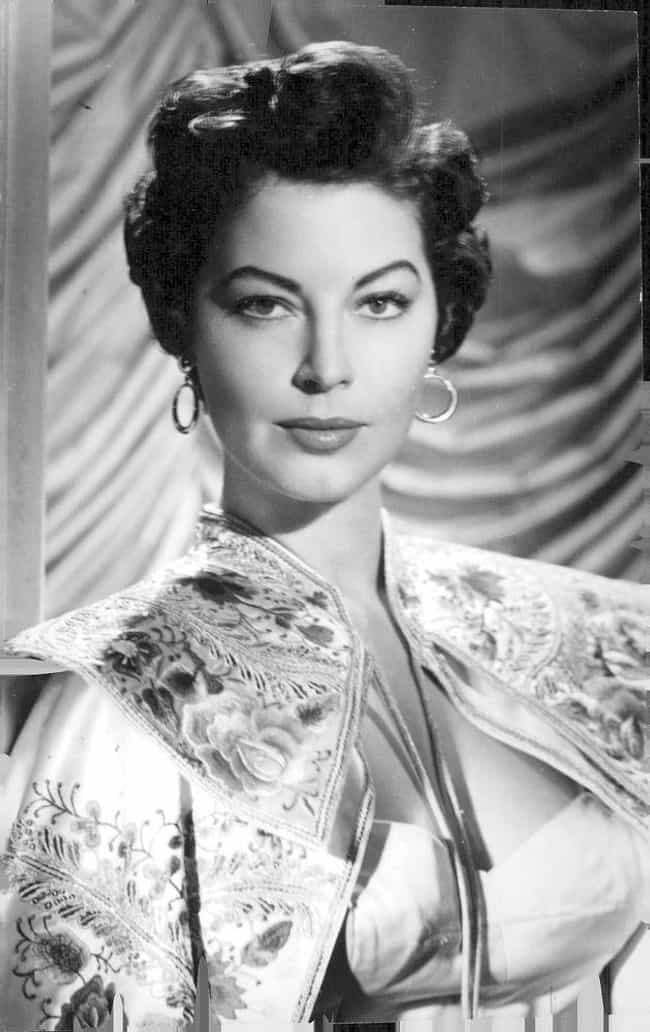 Ava Gardner is listed (or ranked) 11 on the list 18 Celebrities Who Married as Teenagers