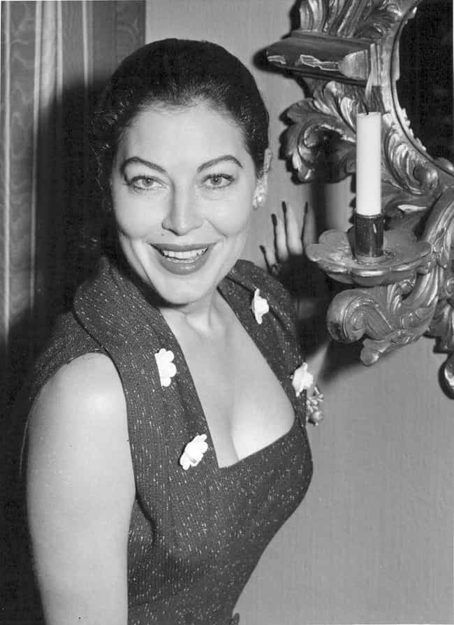 Ava Gardner is listed (or ranked) 8 on the list The Best Celebrity Smiles (Women)