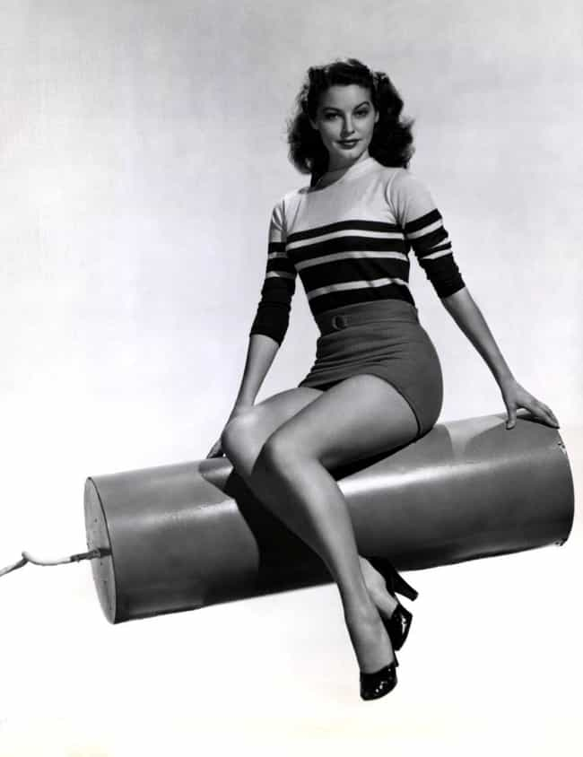 Ava Gardner is listed (or ranked) 1 on the list The Hottest Pin-Up Girls from the 1940s
