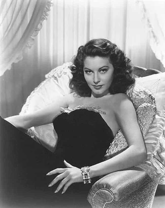 Ava Gardner is listed (or ranked) 8 on the list The Most Beautiful Actresses Ever