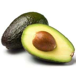Avocado is listed (or ranked) 18 on the list The Vegetables Nobody Wants to Eat