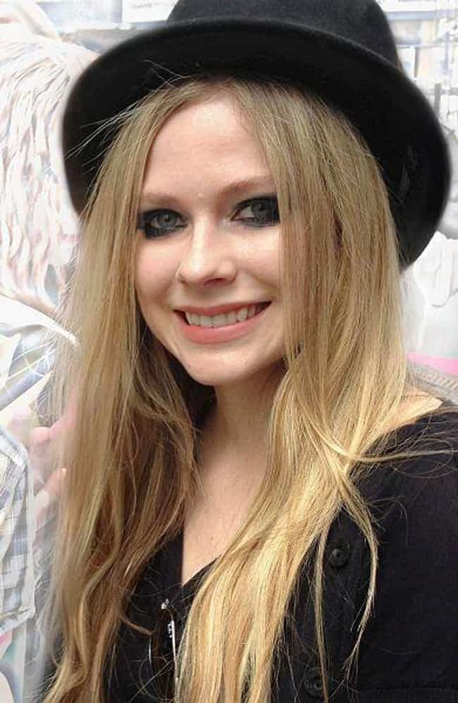 Avril Lavigne is listed (or ranked) 4 on the list Famous People Living With Lyme Disease