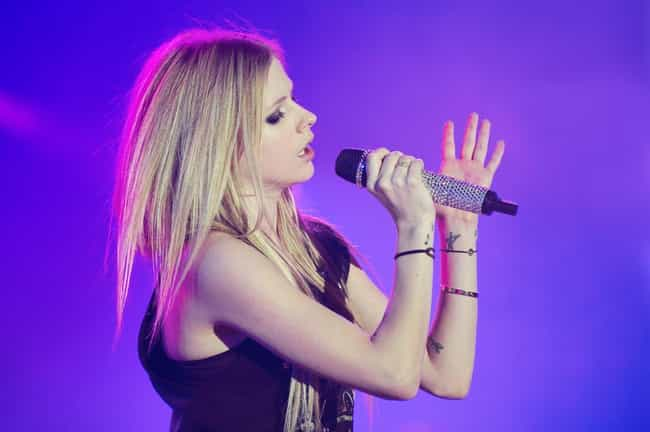 Avril Lavigne is listed (or ranked) 4 on the list 34 Famous ISTPs
