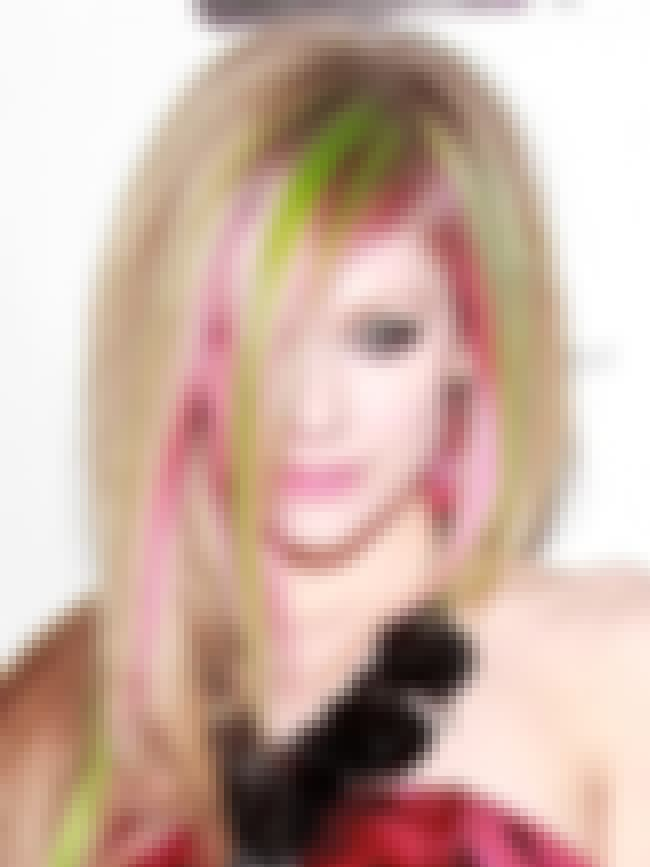 Avril Lavigne is listed (or ranked) 4 on the list The Hottest Women with Brightly Colored Hair