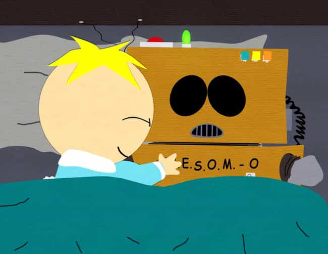 AWESOM-O is listed (or ranked) 4 on the list The Best Cartman Episodes of 'South Park'