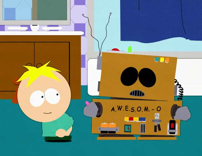 AWESOM-O is listed (or ranked) 3 on the list Ranking Every Butters Episode of South Park Best to Worst