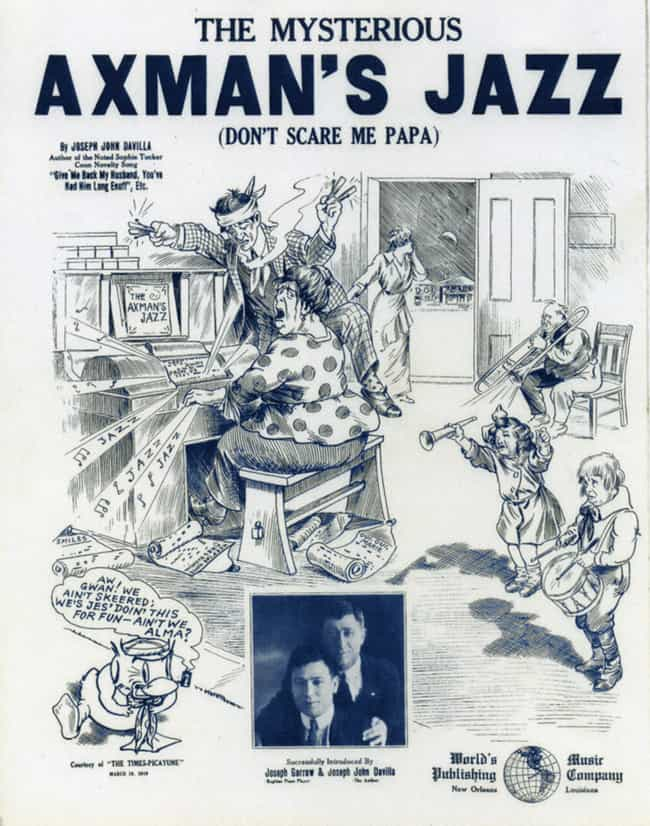 The Axeman of New Orleans is listed (or ranked) 1 on the list 15 Horrifying Stories of Real-Life Axe Murderers