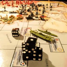 Axis and Allies is listed (or ranked) 11 on the list The Best Board Games of All Time