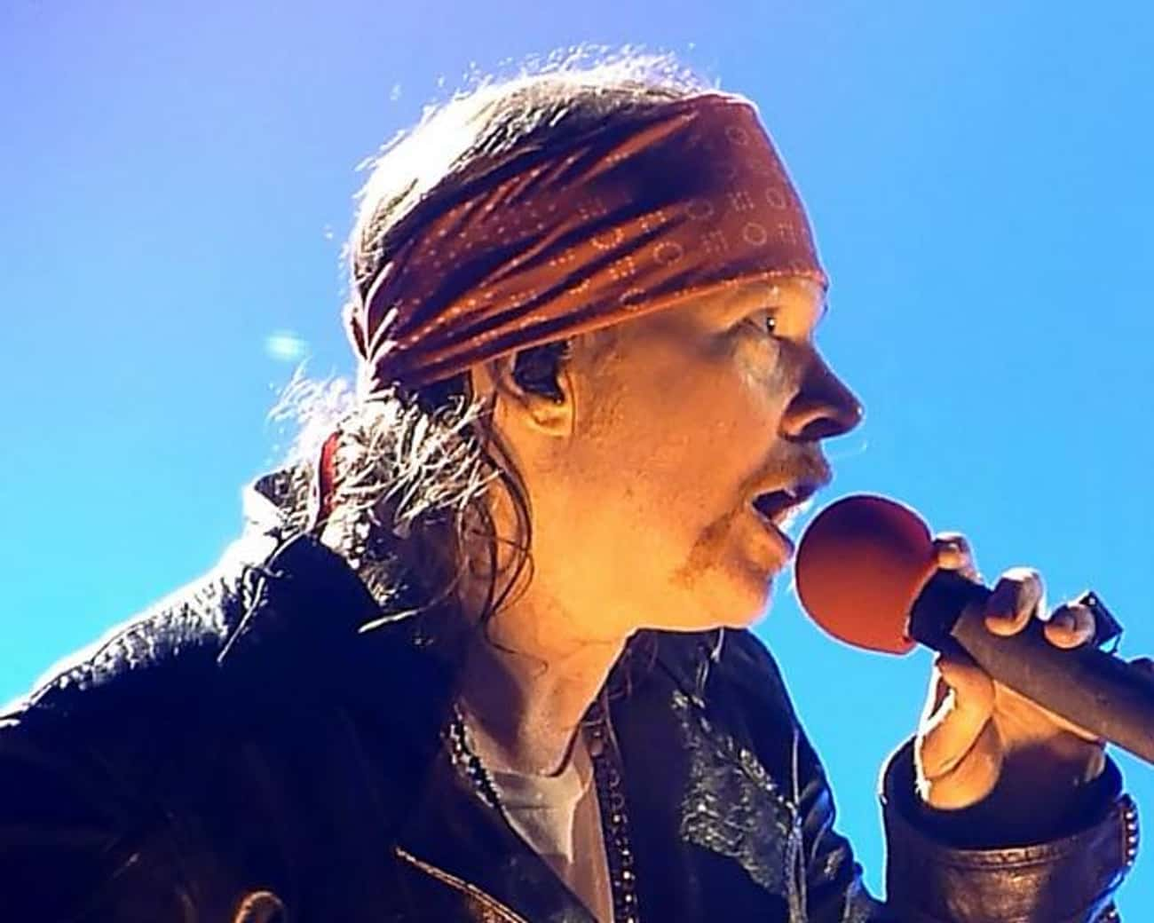 Axl Rose is listed (or ranked) 2 on the list Famous People Born in 1962