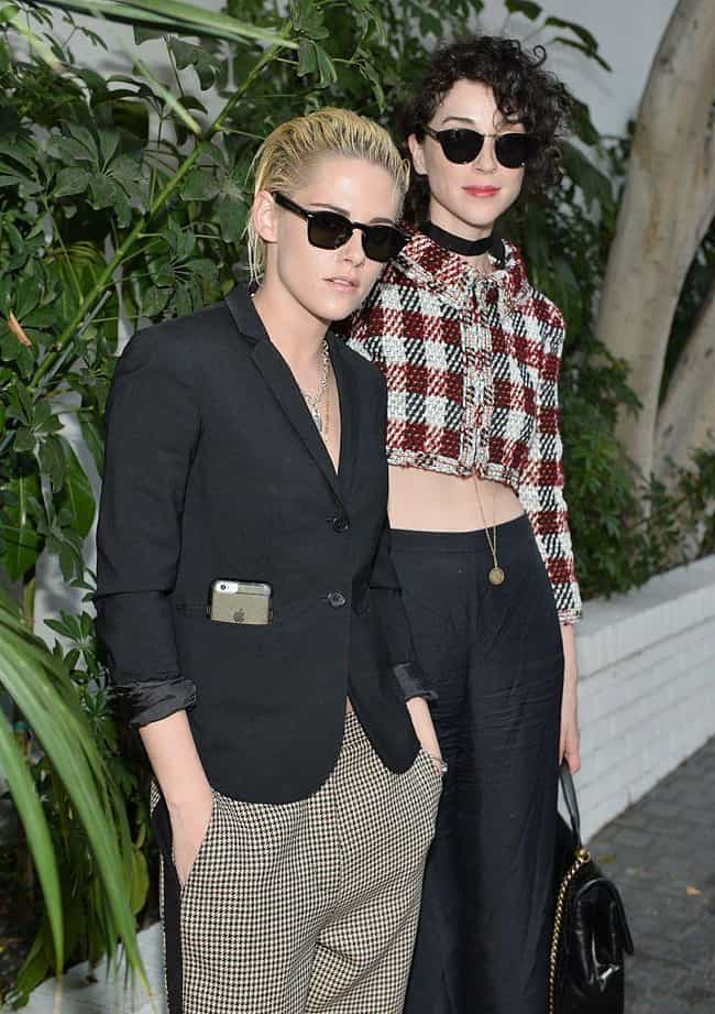 St. Vincent is listed (or ranked) 5 on the list Kristen Stewart Loves and Hookups