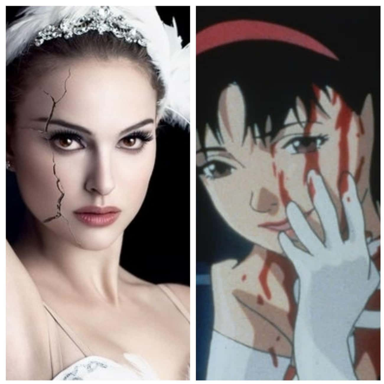 Black Swan is listed (or ranked) 3 on the list 13 American Films That Were Influenced By Anime