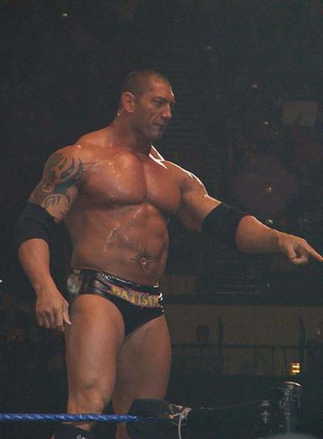 Batista is listed (or ranked) 1 on the list The 15 Best Dave Bautista Performances Of All Time