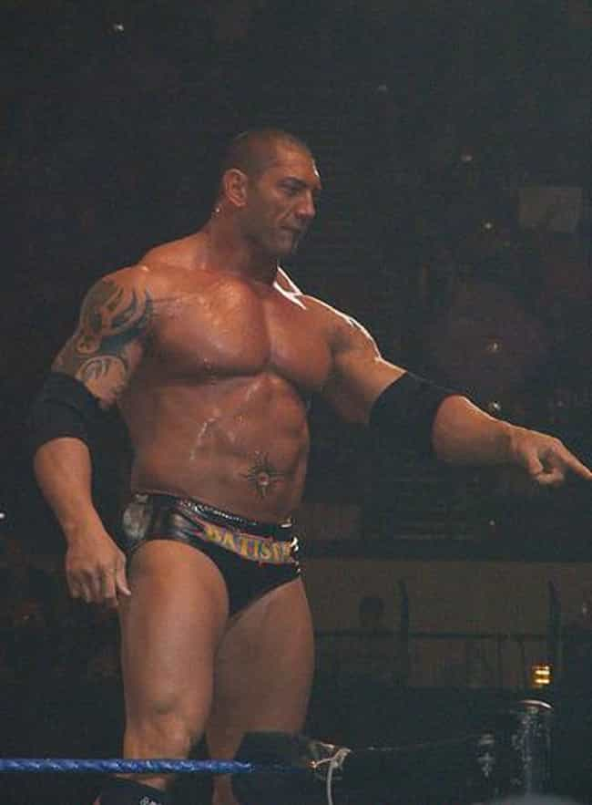 Batista is listed (or ranked) 2 on the list The 15 Best Dave Bautista Performances Of All Time