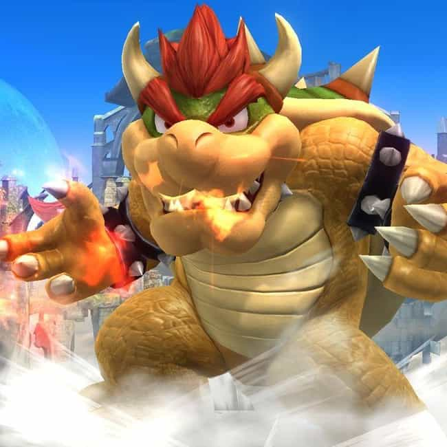 Bowser is listed (or ranked) 6 on the list Characters Whose Heights You Were Totally Wrong About