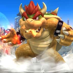 Bowser is listed (or ranked) 7 on the list The Best Super Smash Brothers 4 Characters (Wii U & 3DS), Ranked