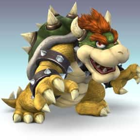 Bowser is listed (or ranked) 9 on the list The Best NES Characters