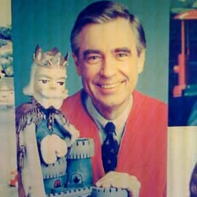Mr. Rogers is listed (or ranked) 21 on the list The Greatest TV Characters of All Time
