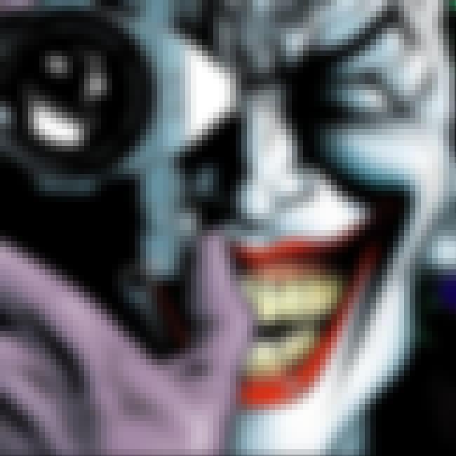 The Joker is listed (or ranked) 3 on the list Comic Book Characters Who Deserve Their Own Video Games