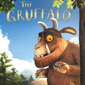 The Gruffalo is listed (or ranked) 11 on the list Good Movies for 4-Year-Olds
