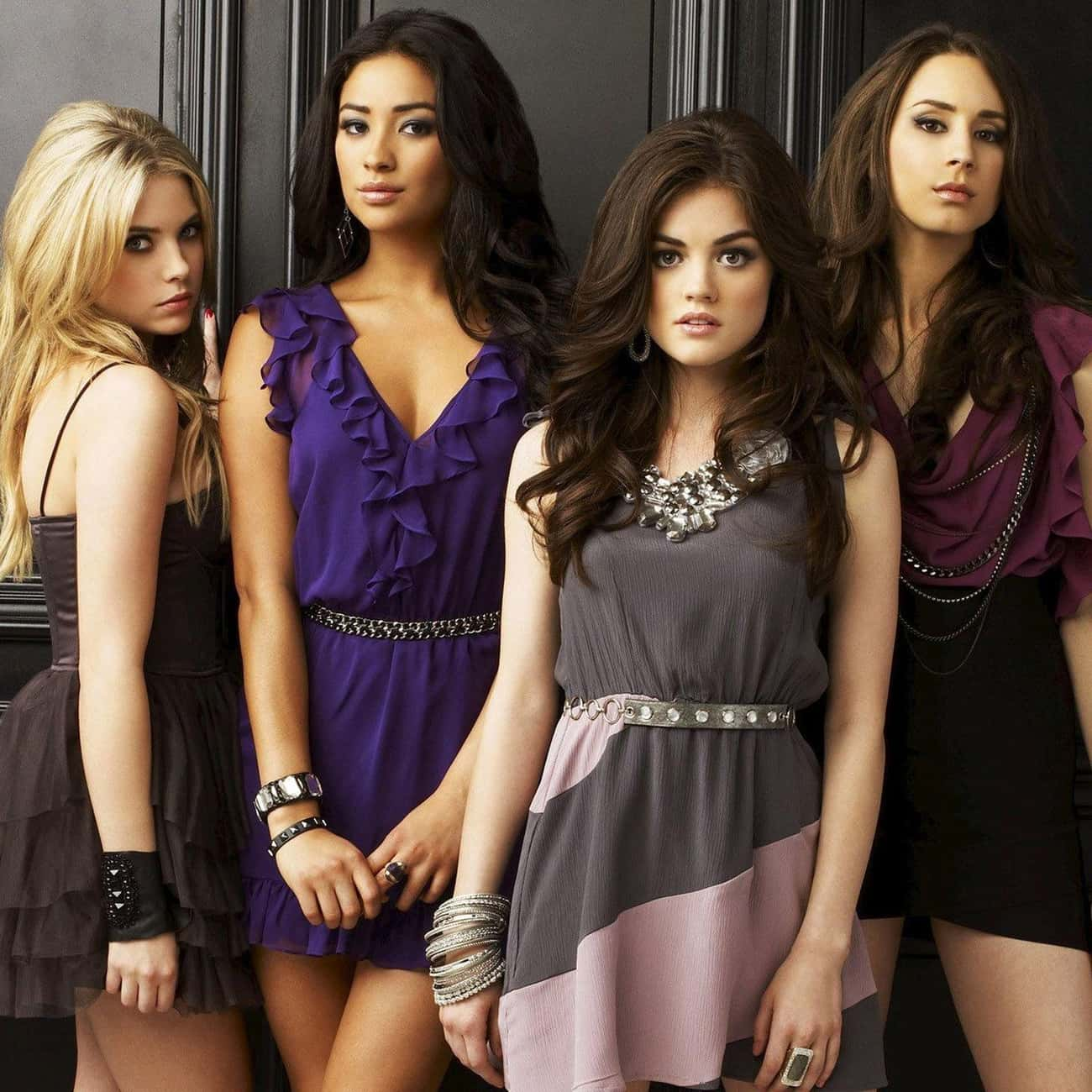 Pretty Little Liars is listed (or ranked) 3 on the list TV Shows with the Hottest Casts