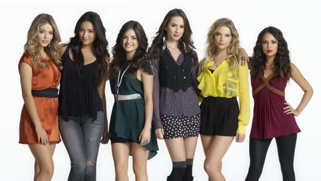 Pretty Little Liars is listed (or ranked) 4 on the list TV Shows That Progressively Got Worse
