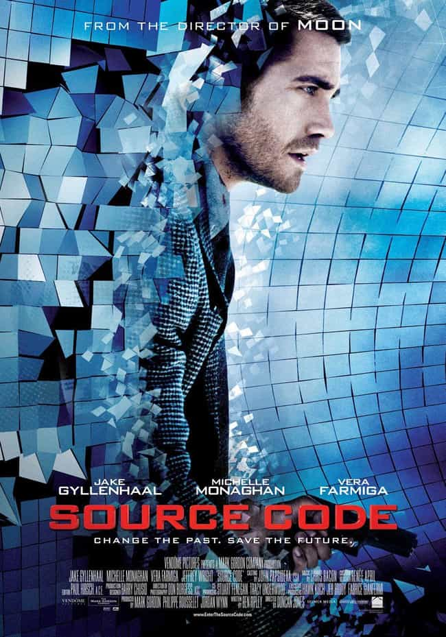 Source Code is listed (or ranked) 3 on the list Time Travel Movies That Make No Sense And People Only Pretend To Understand
