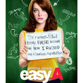 Easy A is listed (or ranked) 1 on the list The Best Romantic Comedies Of The 2010s Decade