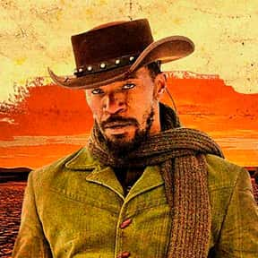Django is listed (or ranked) 6 on the list The Greatest Black Characters in Film History