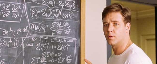 A Beautiful Mind is listed (or ranked) 1 on the list These Are The Most Historically Inaccurate Movies Of All Time